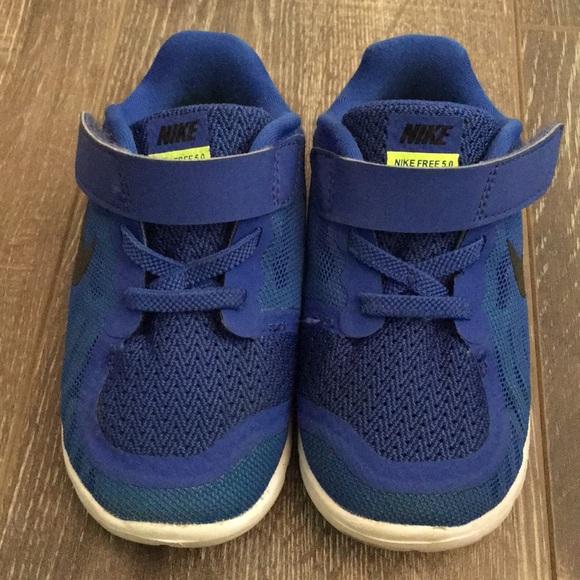 Nike Shoes Toddler Boys Free 50 Blue Sneakers Poshmark